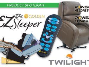 Product Spotlight: Golden EZ Sleeper Lift Chair